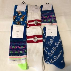 (All 6 Pairs) Topman One Size Sock